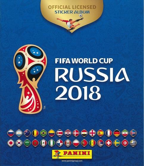 Stickers Panini Russia World Cup 2018