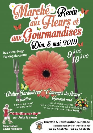 Marché aux fleurs & gourmandises 2019