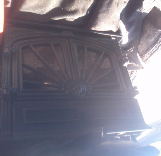 Poêle en fonte vernis - Photo 2