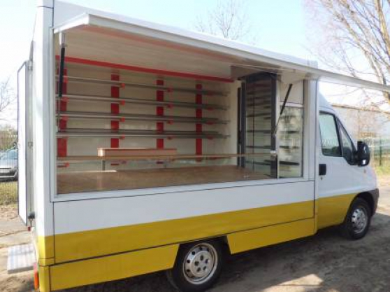 camion magasin boulangerie snack pizza