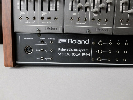 Synthétiseur Roland System 100m - Photo 2