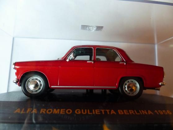 Annonce occasion, vente ou achat 'ALFA ROMEO GULIETTA 1956 IXO 1/43ème'