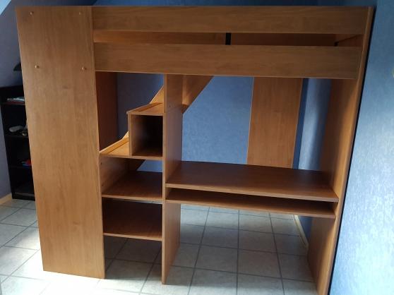 Excellente mezzanine (lit) Gami en bois