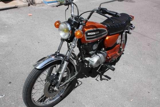 moto honda 125 cbn cbs ann e 1978 moto scooter v lo motos honda marseille reference mot. Black Bedroom Furniture Sets. Home Design Ideas