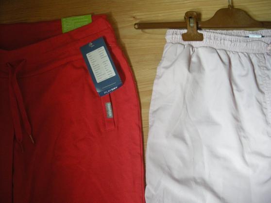 Petite Annonce : Pantalon de sport - Corsaire couleur orange taille 36/38 s   neuf mq Reebok