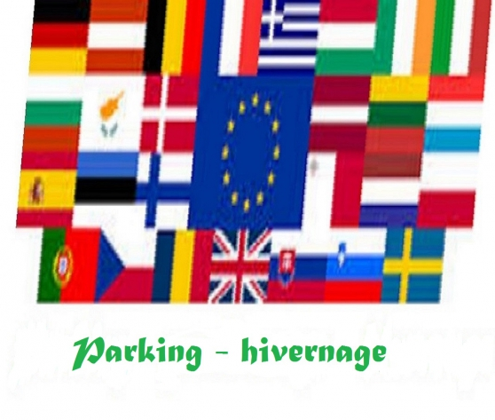 PARKING, HIVERNAGE CARAVANE, CAMPING-CAR