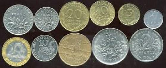 Recherche pièces Francs toutes époques