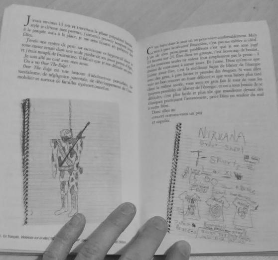 "\""Journal\"" de Kurt Cobain (Nirvana) - Photo 2"