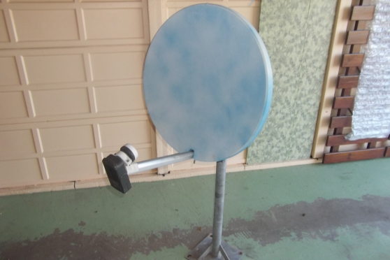 parabole o/60cm + mat 120 cm