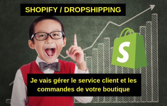 Annonce occasion, vente ou achat 'SAV / Service client - Dropshipping / Sh'