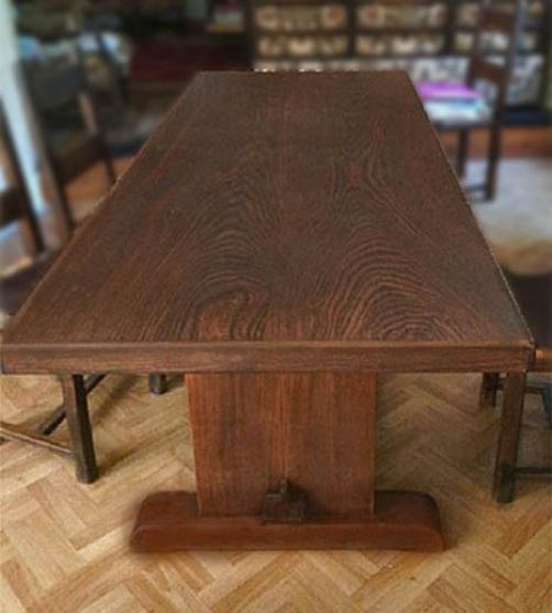 Annonce occasion, vente ou achat 'Table et bahut en orme massif.'