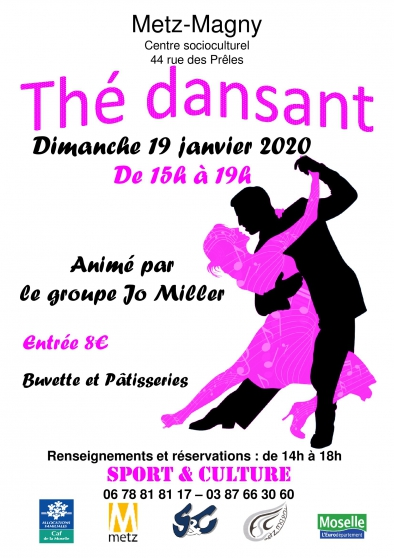 Annonce occasion, vente ou achat 'Thé Dansant'