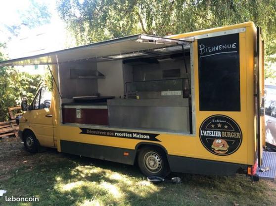 Food truck Mercedes sprinter