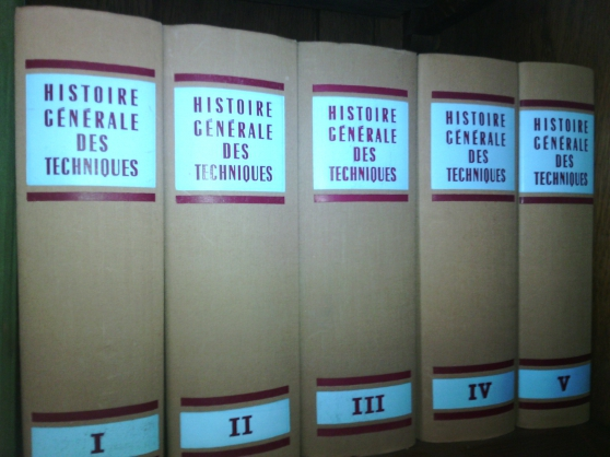 Annonce occasion, vente ou achat 'Histoire générale des techniques'