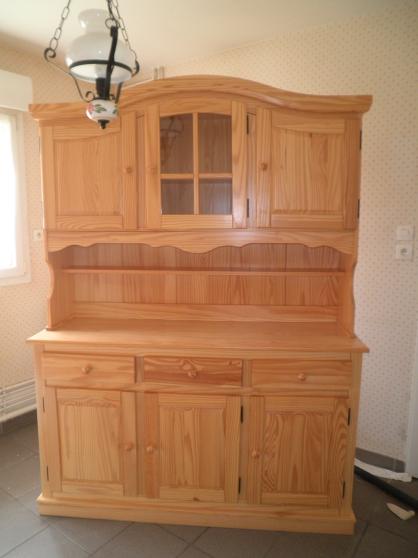 Buffet vaisselier en pin meubles d coration cuisines for Meuble brocante