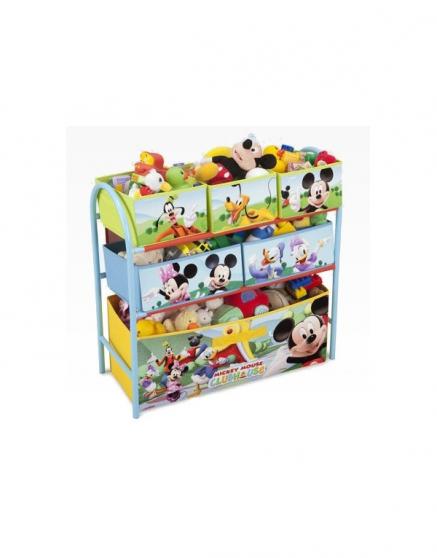 Meuble de rangement pour jouets Mickey