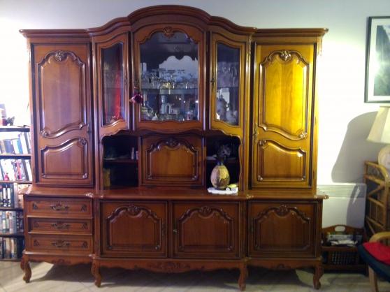 Echange ou vend living salle a manger meubles d coration for Meubles yonne