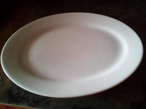 Annonce occasion, vente ou achat 'Assiette blanche'