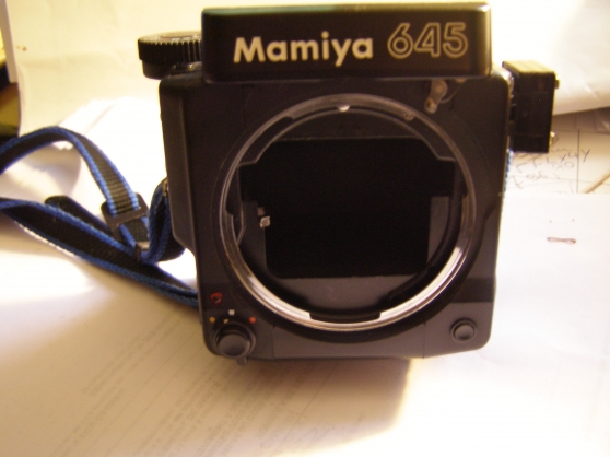 Annonce occasion, vente ou achat 'Boitier MAMIYA 645 SUPER'