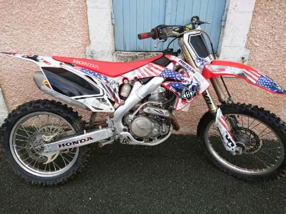 Annonce occasion, vente ou achat 'vend moto 450 crf'
