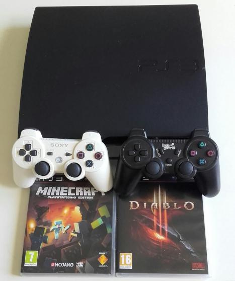 Annonce occasion, vente ou achat 'PS3 slim 250GO entièrement réparée'