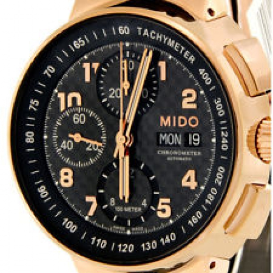 MONTRE MIDO ALL DIAL Or Rose Suiss NEUVE