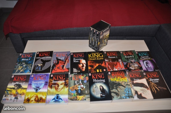 Annonce occasion, vente ou achat 'Livres TBE (Manga, Stephen King etc)'