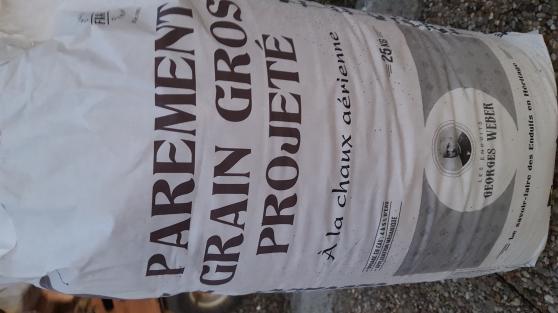Annonce occasion, vente ou achat 'WEBER Parement Grain Gros Proj. Sac 25kg'