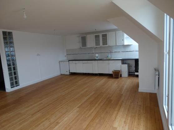 Duplex+terrasse 43m2 sans vis à vis