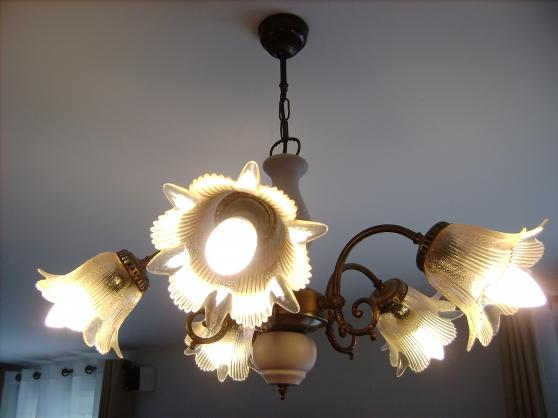 Annonce occasion, vente ou achat 'luminaire cinq branches'