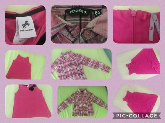 Annonce occasion, vente ou achat 'Vêtements pour filles 8 ans'
