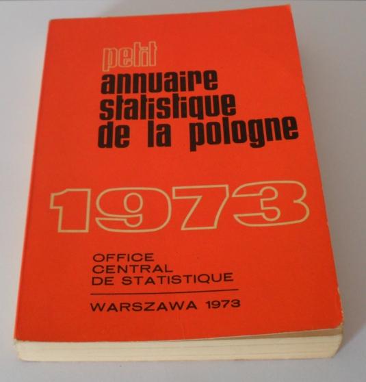 Annonce occasion, vente ou achat 'Petit Annuaire Statistique De La Pologne'