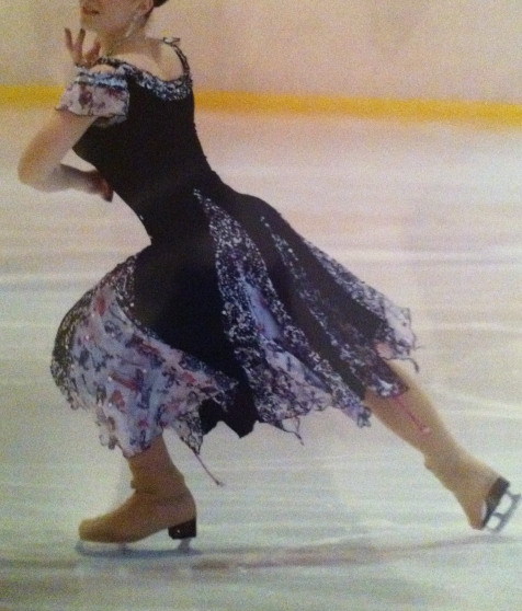 Annonce occasion, vente ou achat 'ROBE PATINAGE / TWIRLING 3'