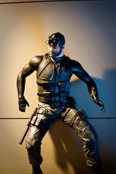 STATUE SPLINTER CELL TAILLE RELLE