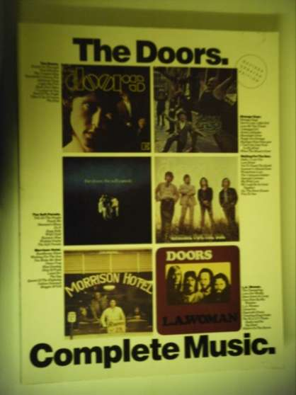the Doors complète music