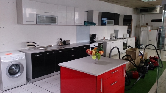 Meuble cuisine laqu destockage meubles d coration - Meuble cuisine destockage ...