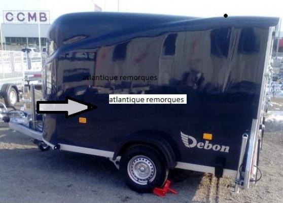 remorque fourgon - Annonce gratuite marche.fr