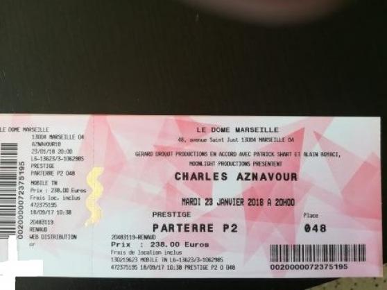 places charles aznavour disponible - Annonce gratuite marche.fr