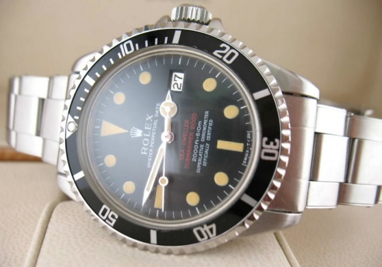 Annonce occasion, vente ou achat 'Rolex Seadweller'