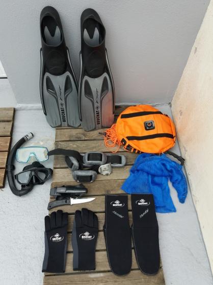Combinaison plongée+ accessoires BEUCHAT - Photo 2