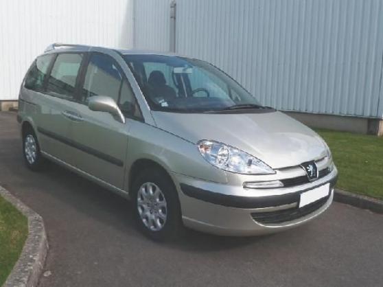 Annonce occasion, vente ou achat 'Peugeot 807 2.0 hdi sr occasion'