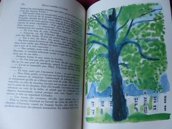 bibliophilie: oeuvres complètes colette - Photo 3