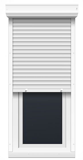 Porte fenêtre un vantail avec volet