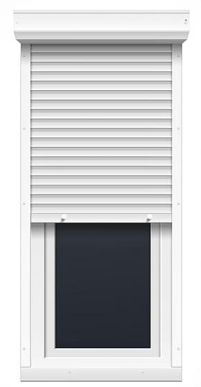 Annonce occasion, vente ou achat 'Porte fenêtre un vantail avec volet'