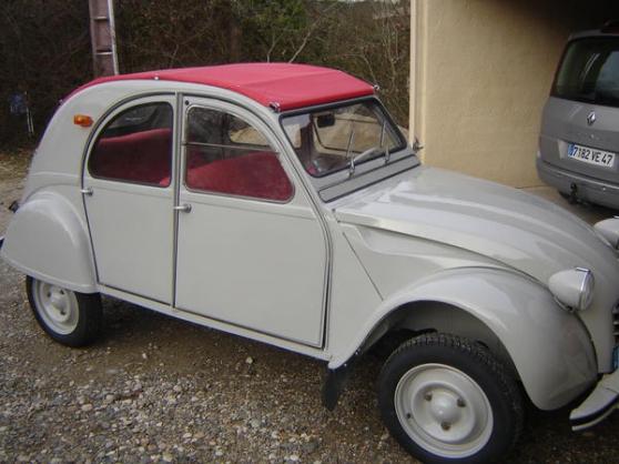 Annonce occasion, vente ou achat 'Citroën 2cv azam'