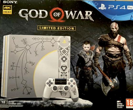 Annonce occasion, vente ou achat 'Ps4 Pro God Of War (Edition limitée)'