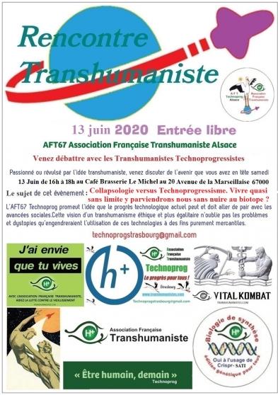 Annonce occasion, vente ou achat 'Libre débat sur le Transhumanisme'