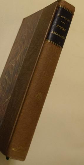 Annonce occasion, vente ou achat 'Paul Bourget - Etudes Anglaises - 1906 .'