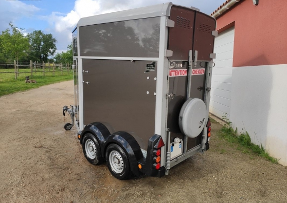 Annonce occasion, vente ou achat 'Van 1,5 place ifor williams HB 403'