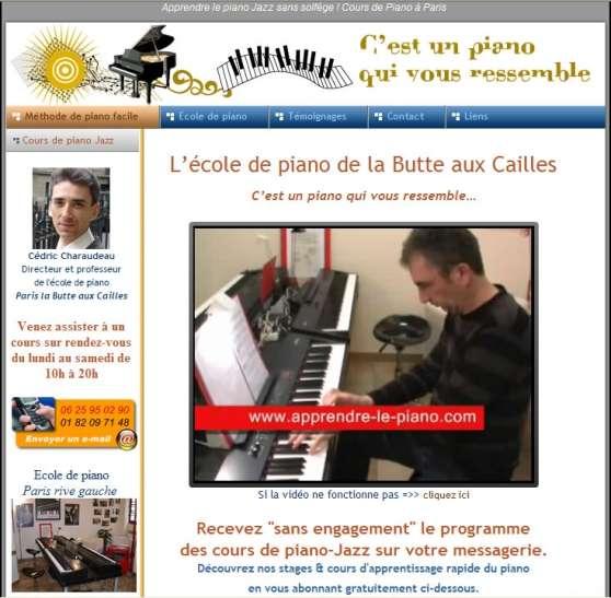Troc cours de piano...